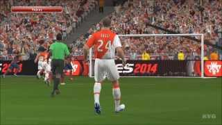 PES 2014 - AS Monaco vs. FC Barcelona Gameplay [HD]