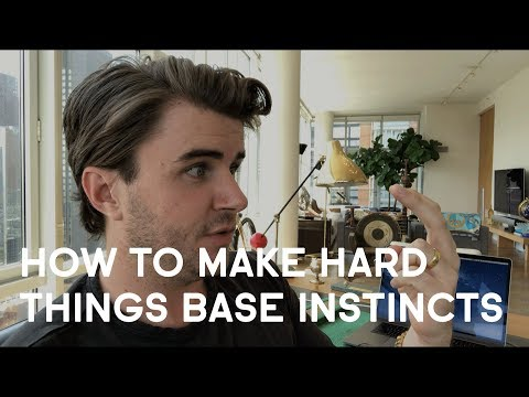 """How To Turn The """"Hard Things"""" You Avoid Into Base Instincts You Can't Live Without"""