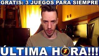¡¡¡CORRE,GRATIS 3 JUEGOS PARA SIEMPRE!!! - Hardmurdog - Noticias - Ps4 - Xbox One - Pc - 2019