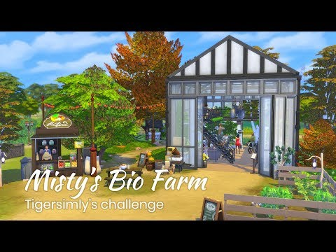 Sims 4 | Speedbuild | Misty's Bio Farm | Restaurant