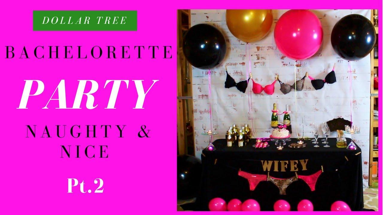 DIY Bachelorette Decoration Ideas