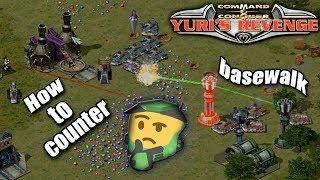 Red Alert 2 Yuri's Revenge - How to counter allieds basewalk in 2 vs 2 on the map Offense Defense