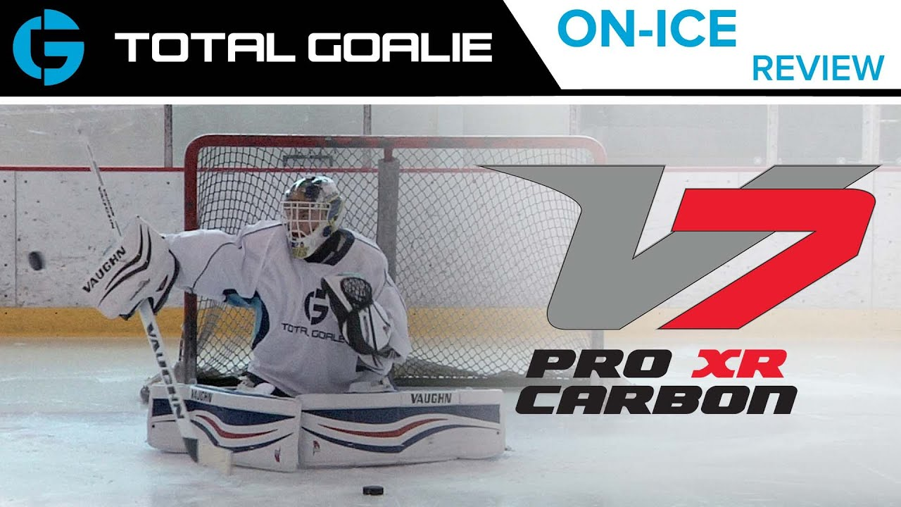 f9eeed9cb28 Vaughn Velocity 7 XR Pro Carbon Blocker    On-Ice Review - YouTube