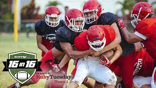 16in16 Football Preview: Kahuku Red Raiders (2017)