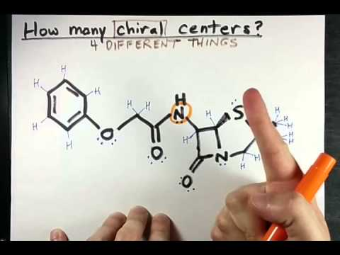 how to identify the sterogenic centre in chem draw