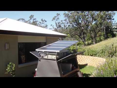 The ultimate camping solar setup!