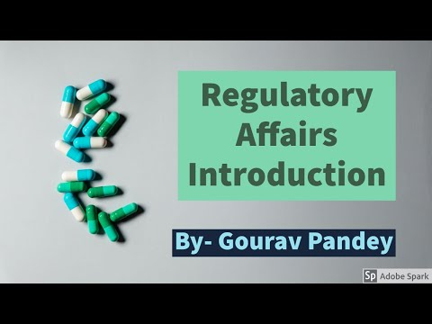 Regulatory Affairs Introduction