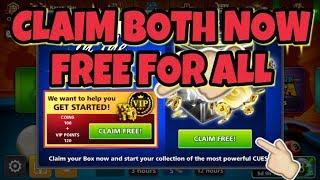 FREE REWARD VIP POINTS AND RARE BOX - 8 BALL POOL - KARAN GAMING