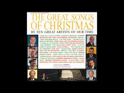 The Great Songs of Christmas Goodyear 1961