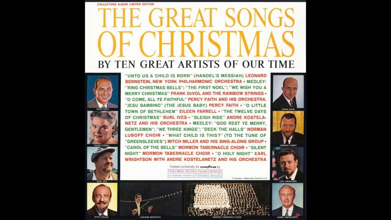 The Great Songs of Christmas. Goodyear 1961. - YouTube
