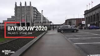 Les Guichets Energie Wallonie à votre service à Batibouw!