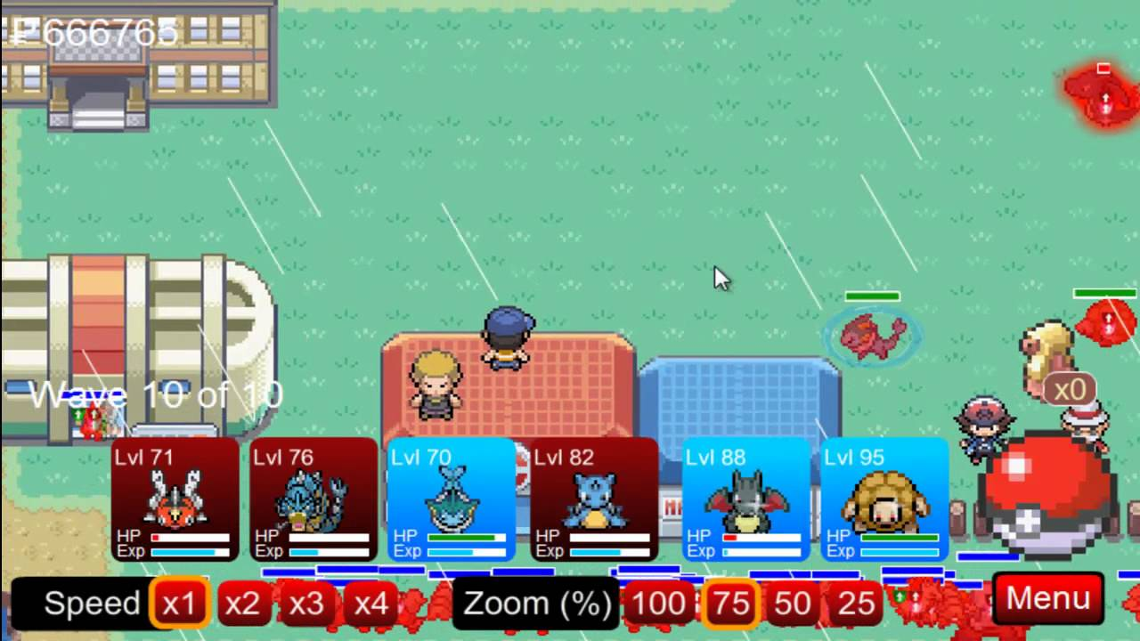 pokemon tower defense how to catch pokemon