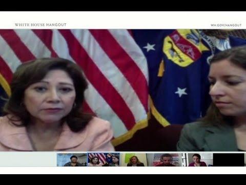 Summer Jobs Google+ Hangout with Secretary Hilda Solis
