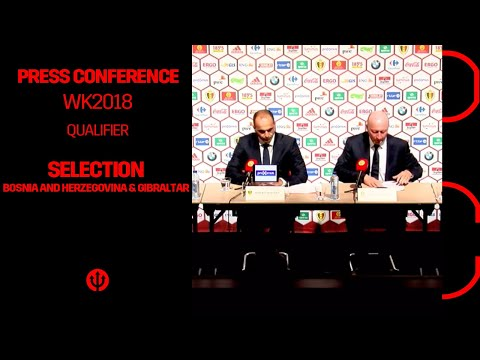 Press Conference Roberto Martinez : Selection Belgium vs Bosnia and Herzegovina & Gibraltar