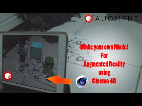How to make Your own Model for Augmented Reality Using Cinema 4D
