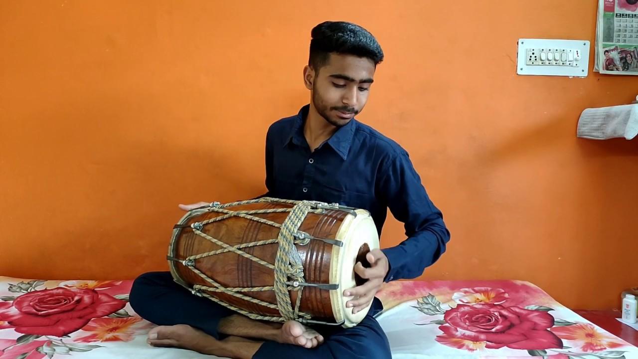 Dholak Tutorial #91 On Dholak || Deepchandi  New Pattern