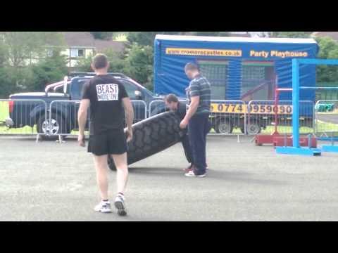 Alan Devlin Tyre Flip