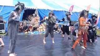 Sta Paraat uit de musical Leeuwen van Muzt bij Slachtemarathon 2012