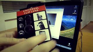 Fisheye рыбий лаз для веб камеры ноутбука за минуту!
