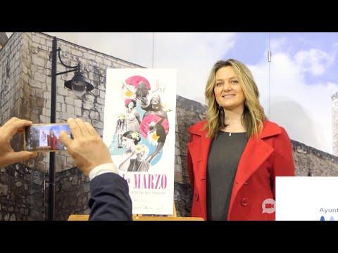 VÍDEO: Presentada la programación municipal con motivo del 8 de Marzo. Día Internacional de la Mujer