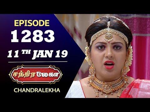 CHANDRALEKHA Serial | Episode 1283 | 11th Jan 2019 | Shwetha | Dhanush | Saregama TVShows Tamil