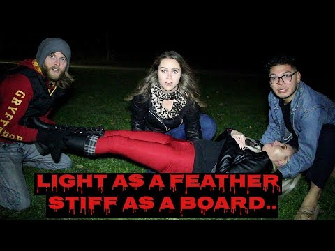PLAYING LIGHT AS A FEATHER, STIFF AS A BOARD!