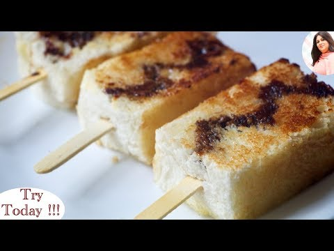 5 Min Instant Dessert Recipe, Bread Lollipops, Recipe For Kids, Bread Recipe, Raksha Bandhan Special