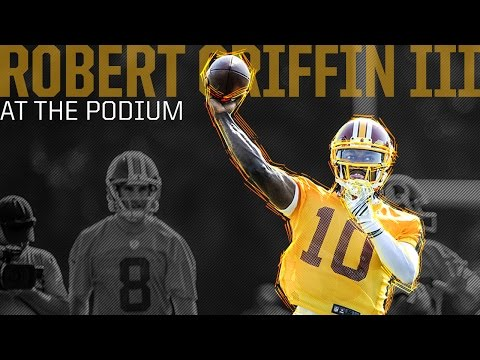 QB Robert Griffin III Press Conference: 11/19/14