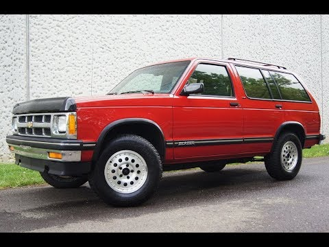 1994 chevrolet s10 blazer 4wd red youtube 1994 chevrolet s10 blazer 4wd red