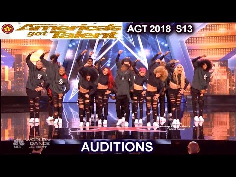 Da Republik Dance Group From Dominican Republic FANTASTIC  America's Got Talent 2018 Auditions AGT