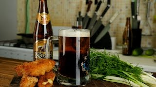 Резаное пиво + рулетики в панировке