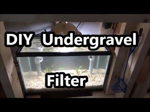 DIY Under Gravel Filter