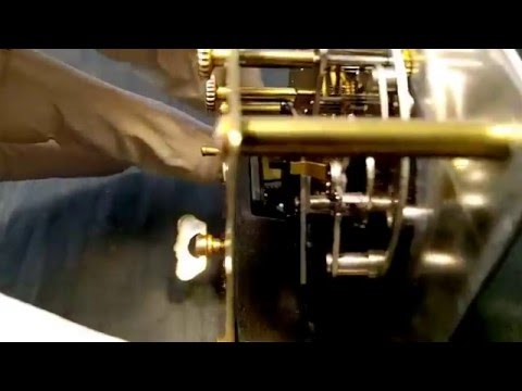 Vintage Swiss IMHOF Musical Alarm Clock
