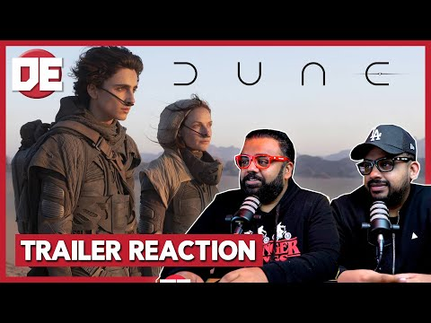 Dune Official Trailer #1 Reaction