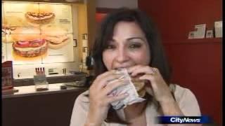 Rose Reisman on CityNews on Mandatory Nutritional Info on Restaurant Menus