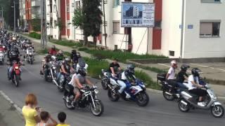 Moto susret 2013 DEFILE Sremska Mitrovica HD