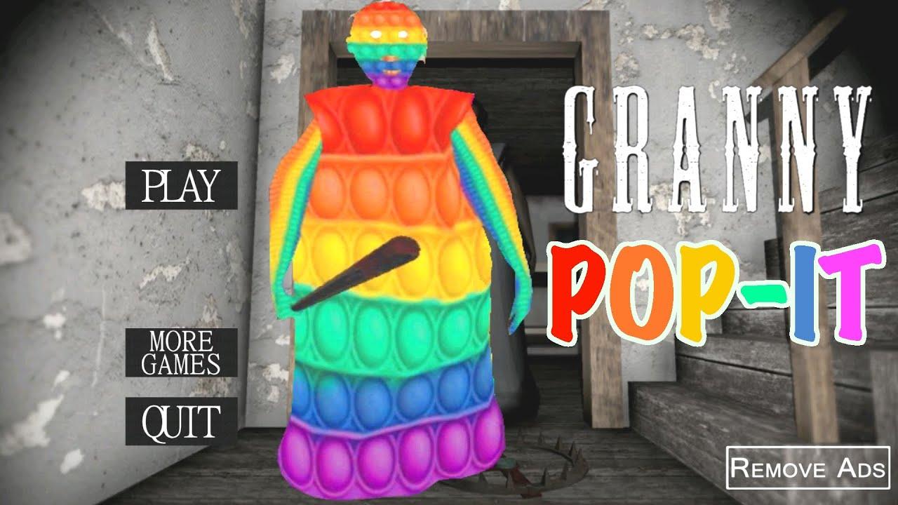 Download Granny is Pop It