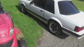 Model A Rust update. Custom sheet metal fab. Ugly Mustang hood.