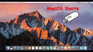 Create a MacOS Sierra 10.12.6 Final Bootable USB Installer
