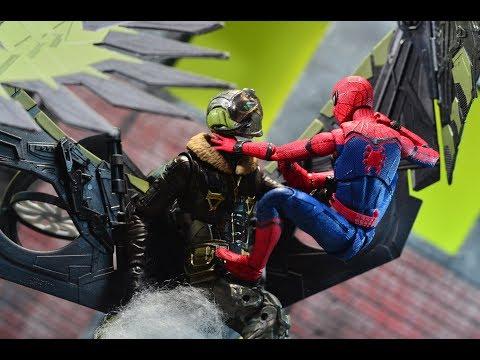 Bandai Tamashii Nations S.H. Figuarts Spider Man: Homecoming Review