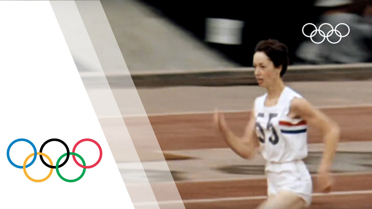 Ann Packer Wins 800m Gold For Great Britain - Tokyo 1964 Olympics