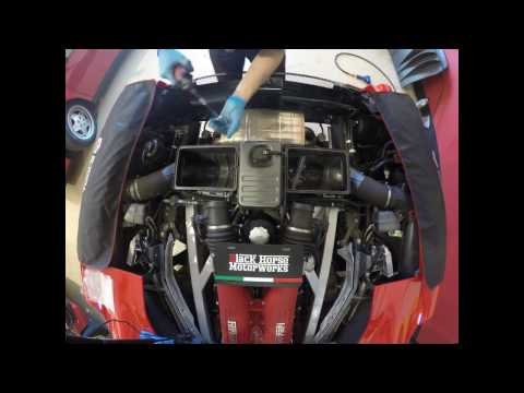 TheChazz.com – Ferrari 430 Spider Gearbox and Clutch Removal Black Horse Motorwerks