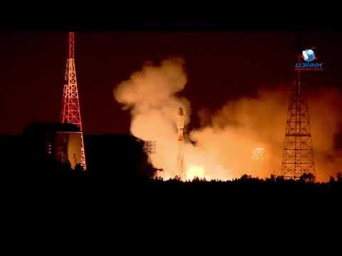Soyuz ST33 Flight - Launch Sequence