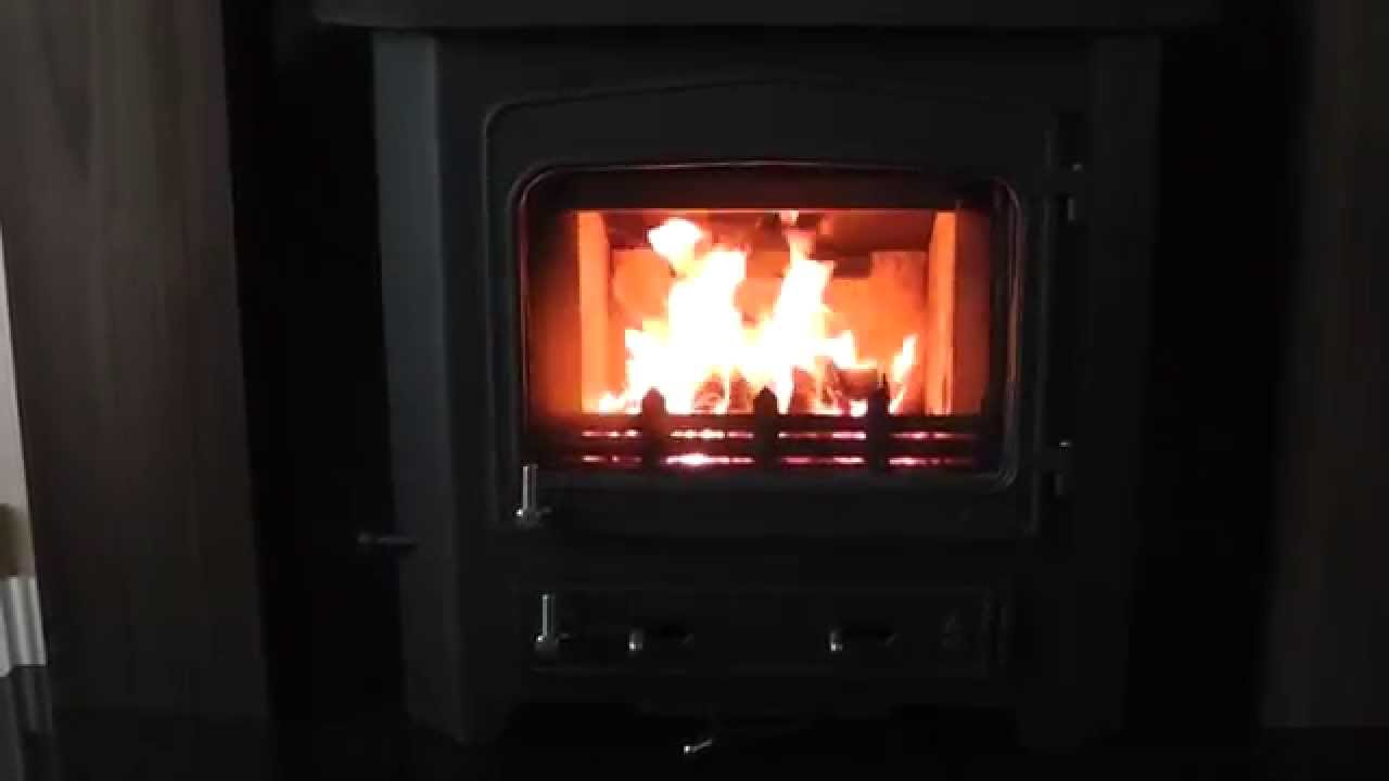 woodwarm 6 5kw fireview inset multi fuel stove youtube rh youtube com