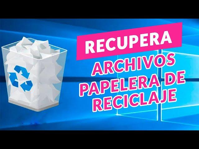 RECUPERA los ARCHIVOS PERDIDOS/ELIMINADOS de tu PC y PAPELERA de RECICLAJE│Tenorshare 4DDiG│2021