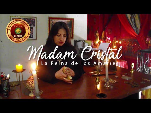 Madam Cristal amarres de amor y consultas