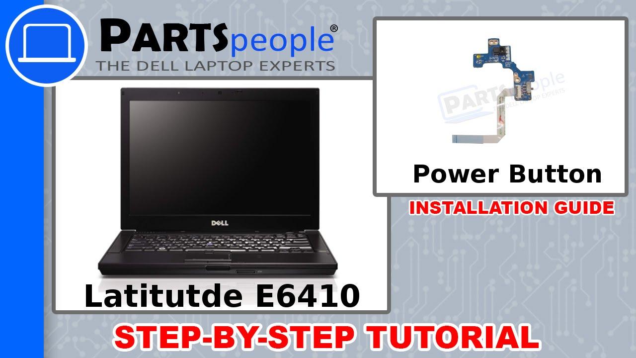 Dell Latitude E6410 Power Button Circuit Board How-To Video Tutorial