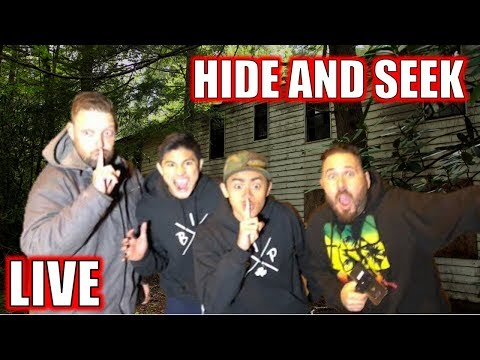 LIVE 🔴: HIDE SEEK IN ABANDONED GHOST TOWN (ft. OmarGoshTV)