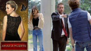 Lucho se pone celoso de Jacobo   Amar a muerte - Televisa