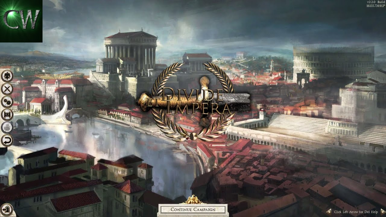 HOW TO INSTALL THE DIVIDE ET IMPERA MOD FOR ROME II